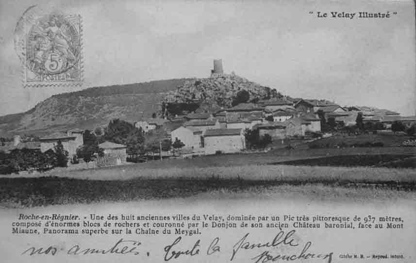 Le bourg au début des années 1900